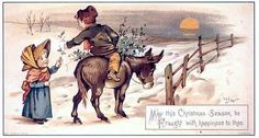 Vintage Xmas card published by Raphael Tuck and Sons. London