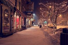 Ellicottville, New York... a great place to ski. Love this snowy picture so nostalgic.