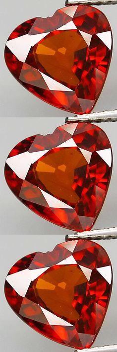 Zircon 10286: 4.34Cts Superb Hi-End Sparkling Flawless Gem - Natural Imperial Orange Zircon!!! -> BUY IT NOW ONLY: $503.96 on eBay!