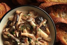 Mushroom lasagna | eats | Pinterest | Mushroom Lasagna, Lasagna and ...
