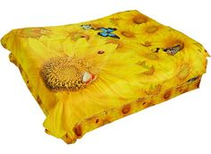 #3dbeddingsets #beddingset #sunflower #floralbedding Live a better life start with @beddinginn