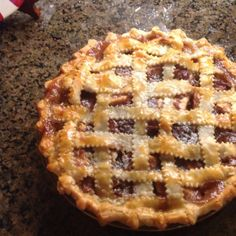 "Cranberry Apple Pie II | ""So simple, and turned out very well with great flavor."""
