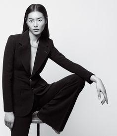 Liu Wen by Daniel Riera for WSJ Magazine