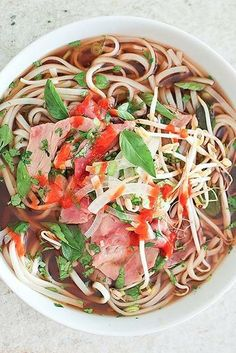 How to make your own pho!
