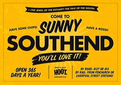 Bit of Love for Southend. Vintage nostalgia and advertising. Come for the chips and ice cream!