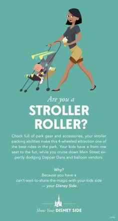 Are you a Stroller Roller? #DisneySide