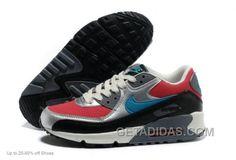 http://www.getadidas.com/nike-women-air-max-90-running-shoes-silver-red-online.html NIKE WOMEN AIR MAX 90 RUNNING SHOES SILVER RED ONLINE Only $75.00 , Free Shipping!