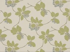 Amaia Indian Teal - Mirabel : Designer Fabrics & Wallcoverings, Upholstery Fabrics