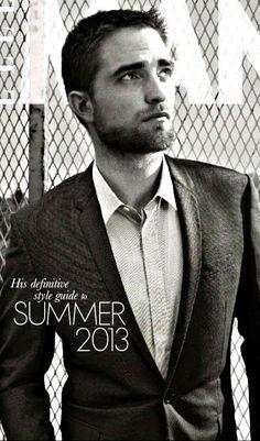 the man's still got it. Robert Pattinson #Dior