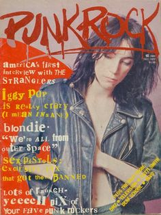 """Patti Smith on Punk Rock magazine (not to be confused with """"Punk""""), 1977"""