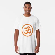 Meditation Symbols, Om Symbol, My T Shirt, Large Prints, Tshirt Colors, Chiffon Tops, Yoga, Mens Tops, Stuff To Buy