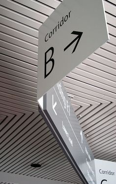 Raytheon campus signage on Behance