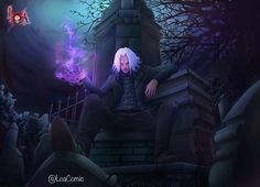 "50 Likes, 2 Comments - LOA Graphic Novel (@loacomic) on Instagram: ""Lyr at Perdido Angelus Cemetery  www.facebook.com/loagraphicnovel  Creators: @aliokuart @ota_drew   Artist: @kuzomari   #blackart #loa #urbanart #urban #fantasy #fantasyart #urbanfantasy #chocolatecitycomics #anime #animeart #blackcreatives #afrocentric #afroart #haiti #voodoo #magic #ilovefantasyart #supportblackartists #kuzomari #blackanime #blackmanga #africa #african #africanlore #vodou #blackheroesmatter #artwork """