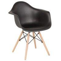 Трапезен стол Carmen 9959 – черен