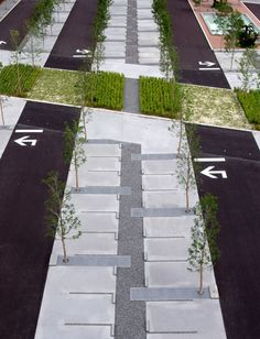 Parking Lot by PLATdesign. The organization/layout of this is great because it…