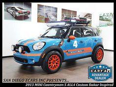 2013 Mini Countryman S ALL4 Custom Dakar Rally