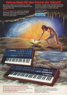 KORG Mono/Poly / Polysix Anzeige 2 1982