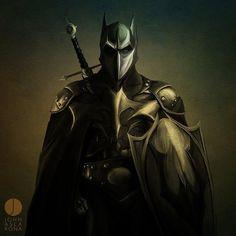 Last pinner: Dark Ages Dark Knight.  I say, Azrael... With a sword.