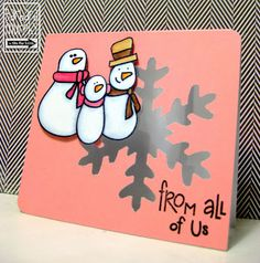The Alley Way Stamps: Just You + Me Monday
