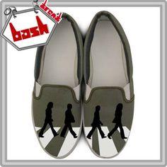 Zapatillas Personalizadas, Slip-on Pintadas Diseño Exclusivo - $ 94,99