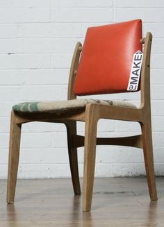 1950s chair upcycled