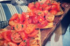 Quick, simple and delicious Melktert Melktert, Tomato Bruschetta, Kos, Shrimp, Cooking Recipes, Meat, Simple, Ethnic Recipes, Chef Recipes