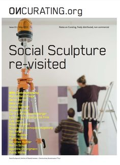 """Birchall, M. 2015. Socially engaged art in the 1990s and beyond. On Curating. 25:13-20.  Birchall defines the 1990s as being an important point in the shift of socially engaged art, with major exhibitions such as """"Culture in Action"""" in Chicago, """"Sonsbeek 93"""" in the Netherlands, as well as """"Project Unité"""" in France. These exhibitions acted as a precursor to what is now known as socially engaged art. The Scene Aesthetic, Exhibitions, 1990s, Netherlands, Acting, Chicago, France, Culture, Art"""