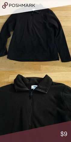 Women's pull over fleece Old Navy  brand new without tags half zip pull over fleece. Perfect for those cold, snowy days that are quickly approaching! Wear it with jeans, scrubs or under your jacket while enjoying winter sports. Super soft! Old Navy Tops Sweatshirts & Hoodies