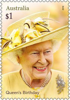 Beautiful new stamps issued by Australia Post to commemorate The Queen's 90th Birthday.