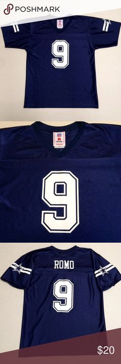 3cefd8df06a Dallas Cowboys - NFL Women's Jersey 🏈 ⭐ Dallas Cowboys ⭐ Tony Romo Size  Women's Medium Gently worn - not a new jersey. Get it before the Playoffs!