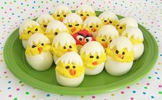 Deviled Egg Chicks @ Texas Recipes