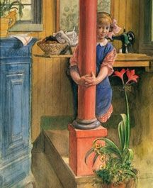by Carl Larsson ~ colors he uses are some of my favorites!