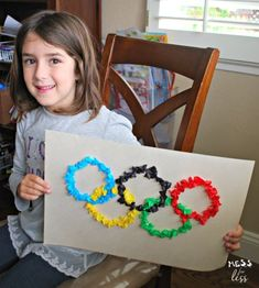 Olympics Kids Activities, Olympic Games For Kids, Craft Activities For Toddlers, Kids Olympics, Preschool Crafts, Summer Olympics, Summer Sports Crafts, Sport Craft, Summer Crafts