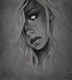 Girl. Ver2 by sashajoe.deviantart.com on @DeviantArt