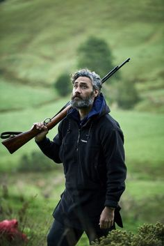 Taika Waititi on set of Hunt for The Wilderpeople