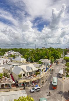 Key West's iconic Duval Street. Photo by Patrick Emerson CC BY