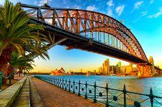 Gorgeous shot of the bridge