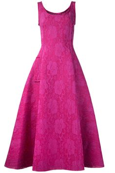 Lanvin Sleeveless Lace Dress | Kirna Zabete