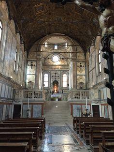 Venice all marble church