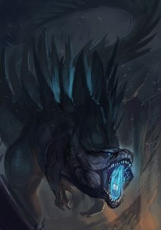 King of monsters by: http://alectorfencer.deviantart.com/