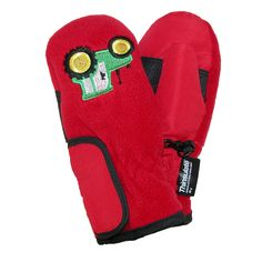 Grand Sierra Toddlers 2-4 Embroidered Waterproof Mittens