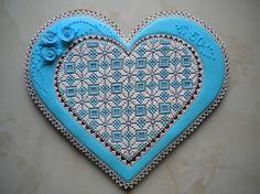 Perníky 2015 – Iva Palíková – album na Rajčeti Fancy Cookies, Heart Cookies, Valentine Cookies, Holiday Cookies, Valentines Day, Shortbread Cookies, Cake Cookies, Sugar Cookies, Cupcakes