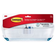 Command™ Shower Caddy with Water-Resistant Strips : Target