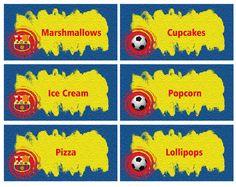 Barcelona Food Labels FREE PDF Download