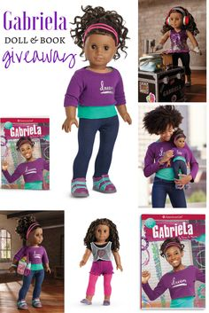 Gabriela (American Girl of the Year 2017) doll and book giveaway on Bonggamom Finds! Ends Feb 3, 2017.