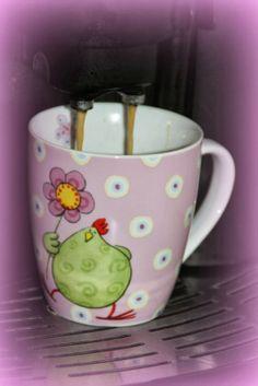 rosa Huhn Kaffee