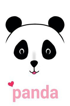 Panda 😍 #Rõôdy_ghilan #رسمي Panda Bears, Stencils, Snoopy, Fictional Characters, Art, Pandas, Art Background, Kunst, Templates