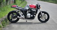 CB1000.... stomped one of these on my ZX-9 once.