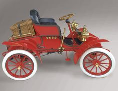 1903 Marr Auto Car: The only known surviving car produced by the Marr Auto Car Co. from 1903, this auto was the precursor to the first Buick.
