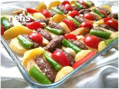 Lokanta Usulü İzmir Köfte Turkish Recipes, Italian Recipes, Turkish Kitchen, Fish And Meat, Fresh Fruits And Vegetables, Iftar, Breakfast Recipes, Brunch, Food And Drink